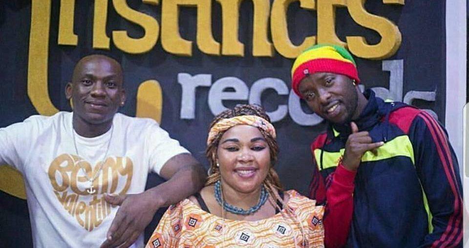 Eddy Kenzo in studio with Tanzania's Saida Kalori - 411 UG