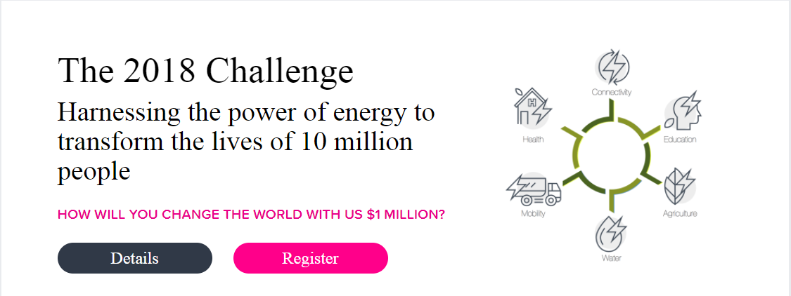 The Hult Prize 2018 Challenge is giving Social Entrepreneurs upto US