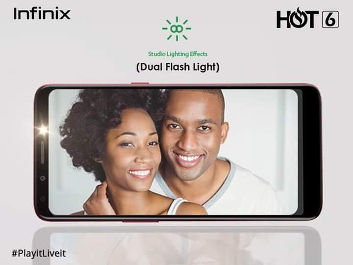 Infinix Hot 6 has been launched in Uganda - 411 UG